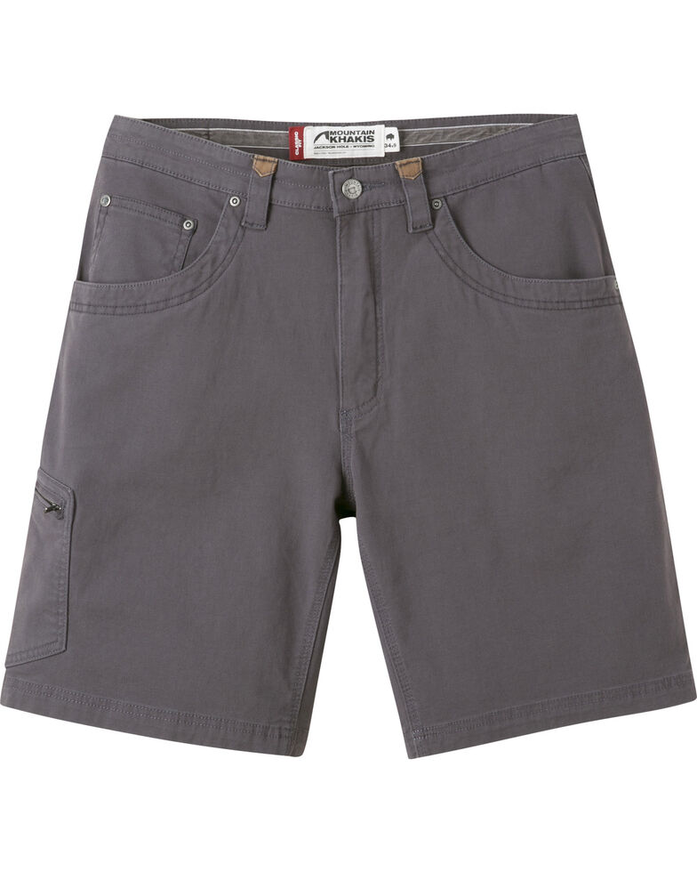 """Mountain Khakis Men's Classic Fit Camber 107 Shorts - 11"""" Inseam, Slate, hi-res"""