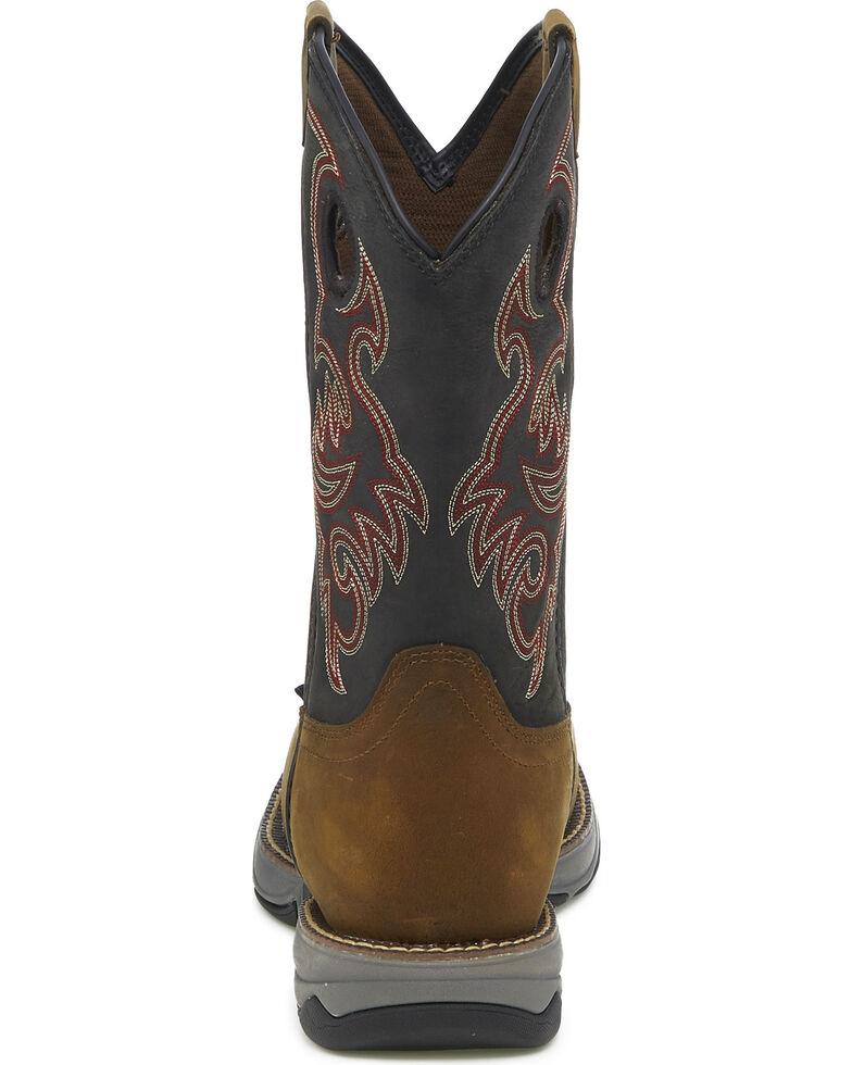 814c8f79a8f Tony Lama Men's Junction Brown Waterproof Western Work Boots - Steel Toe