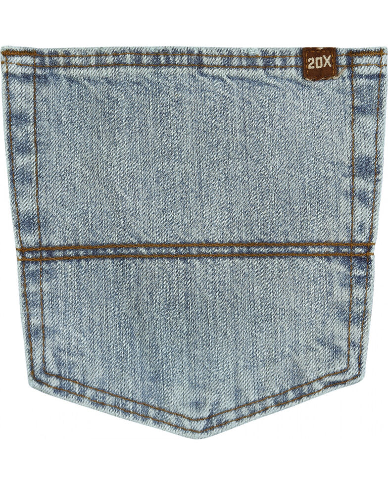 Wrangler Men's Vintage 20X Extreme Relaxed Fit Jeans, Blue Frost, hi-res