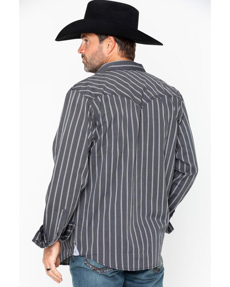 Moonshine Spirit Men's Jail Break Long Sleeve Shirt, Blue, hi-res
