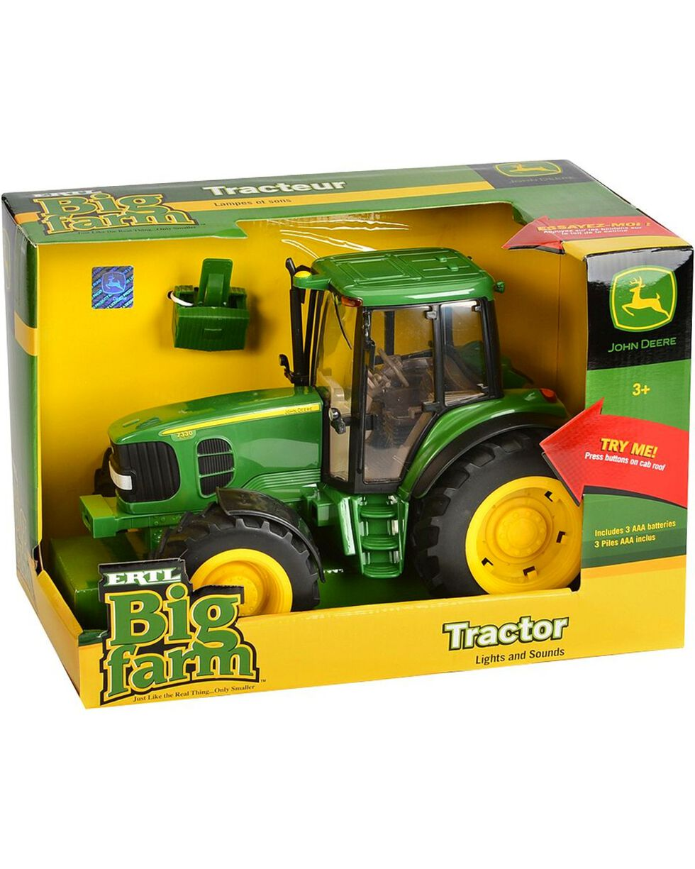 John Deere Kid's Big Farm Tractor with Lights & Sound, Green, hi-res