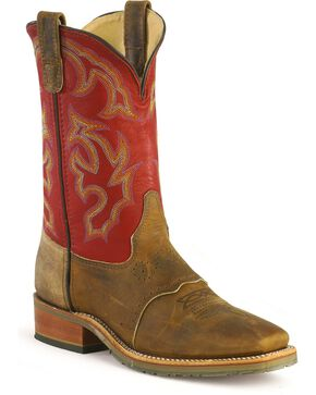 Double-H Men's Western Work Boots, , hi-res