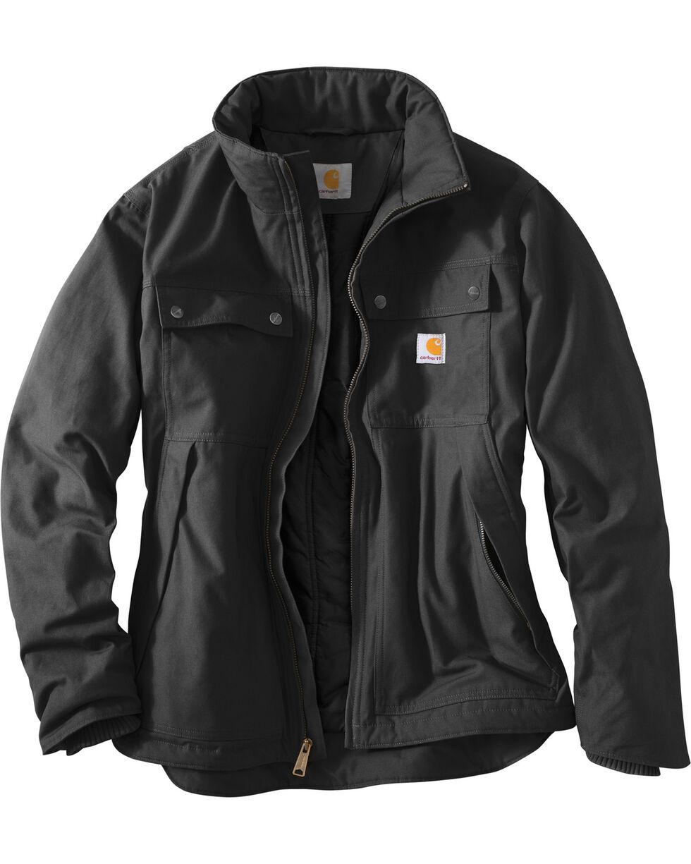 Carhartt Men's Jefferson Traditional Jacket, Black, hi-res