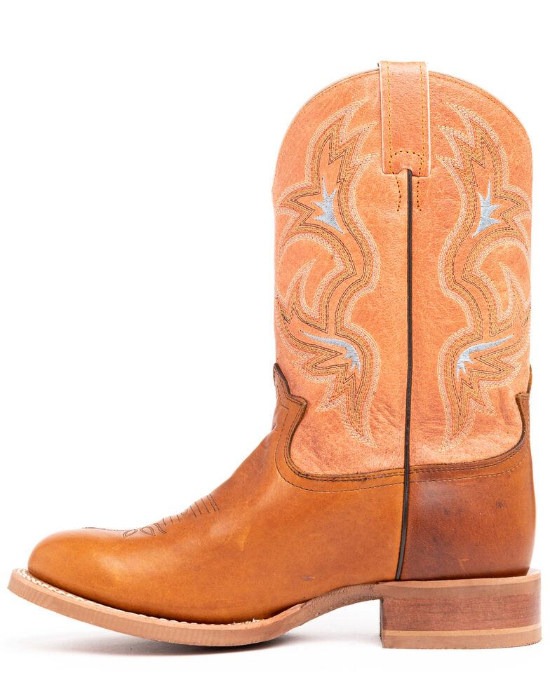 Tony Lama 3R Men's Crocket Stockman Boots, Cognac, hi-res