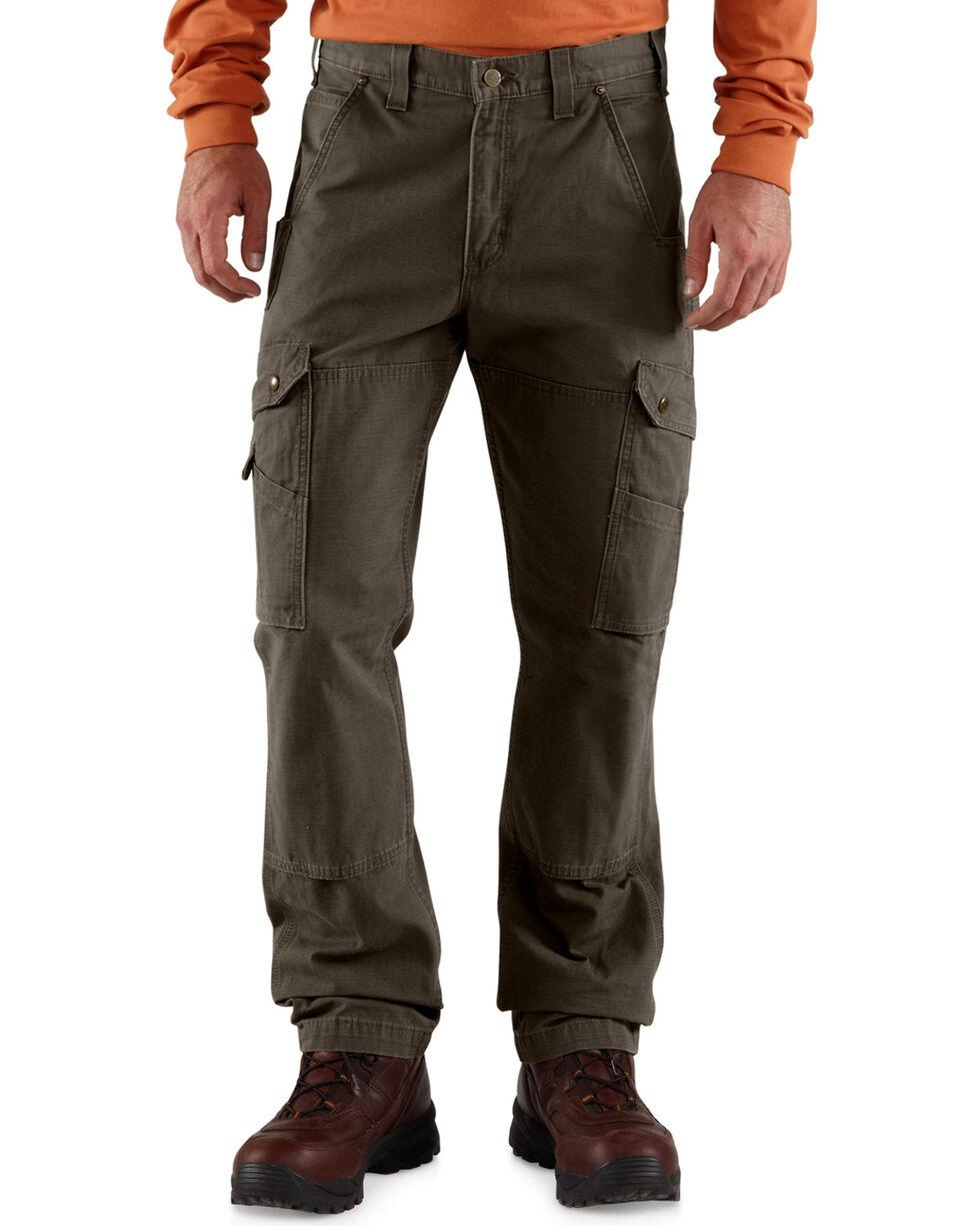 Carhartt Men's Cotton Ripstop Pants, Coffee, hi-res
