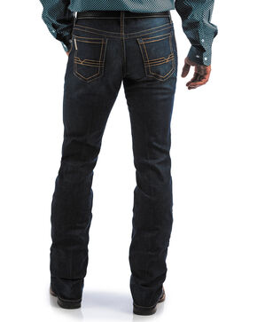 Cinch Men's Ian 360 Flex Deep Rinse Slim Fit Jeans - Boot Cut, Indigo, hi-res