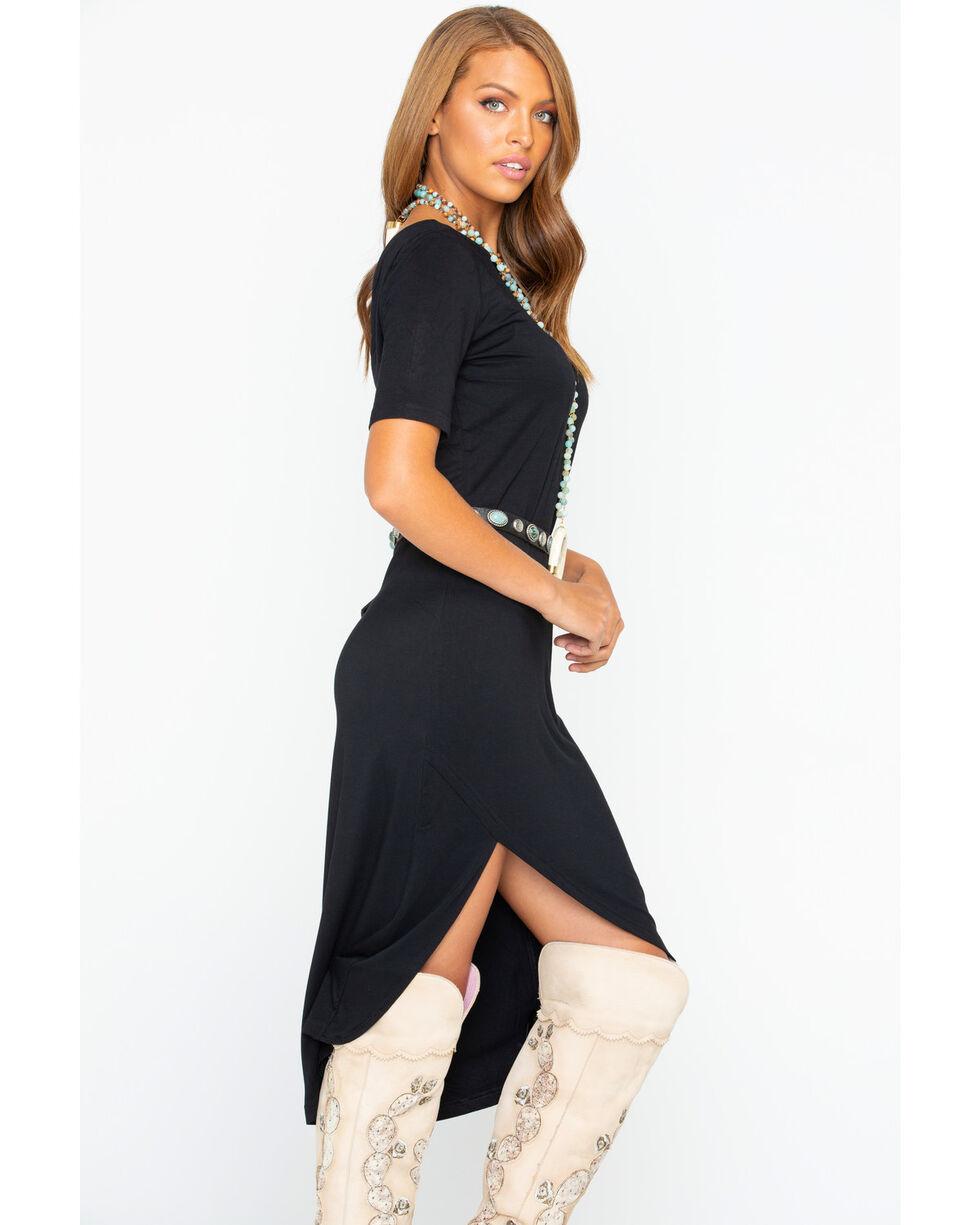 BB Dakota Women's Knit Dress , Black, hi-res
