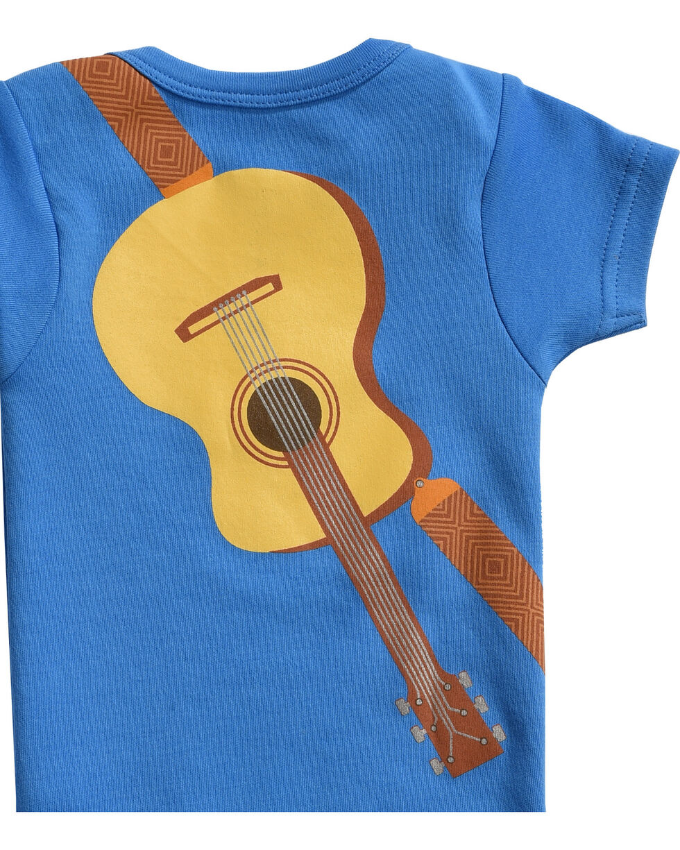 """Hers 'N Spurs Infant's """"New Country Boy"""" Onesie, Blue, hi-res"""