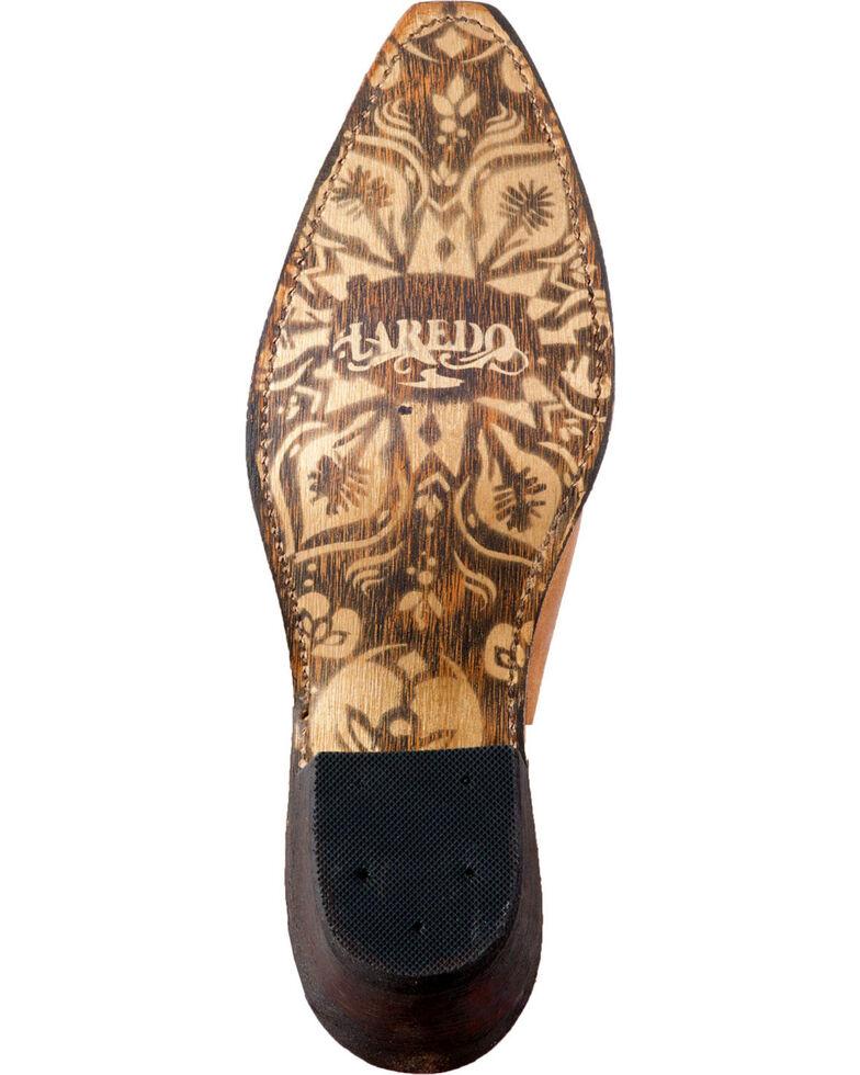 Laredo Women's Rowdy Tan Wild Soul Mules - Snip Toe, Tan, hi-res