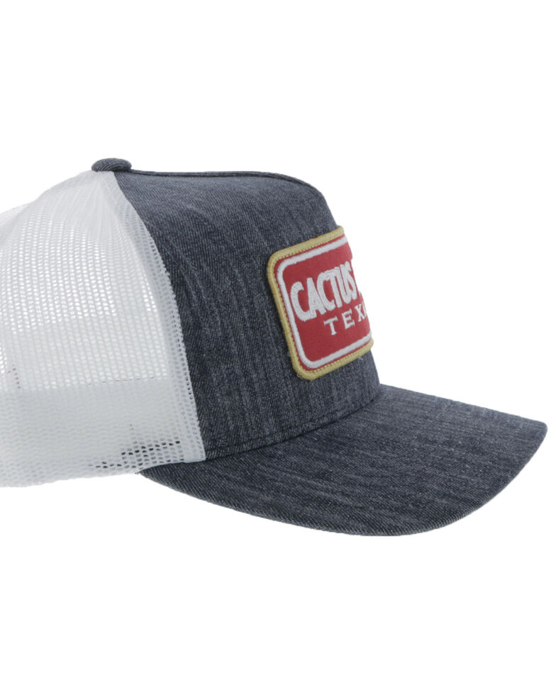 HOOey Boys' Navy Cactus Ropes Patch Mesh Cap, Navy, hi-res