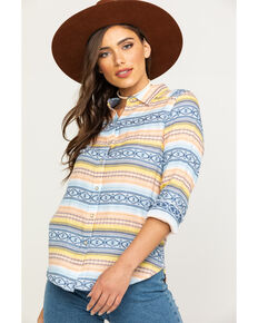 Ariat Women's Spotlight Long Sleeve Shirt, Multi, hi-res