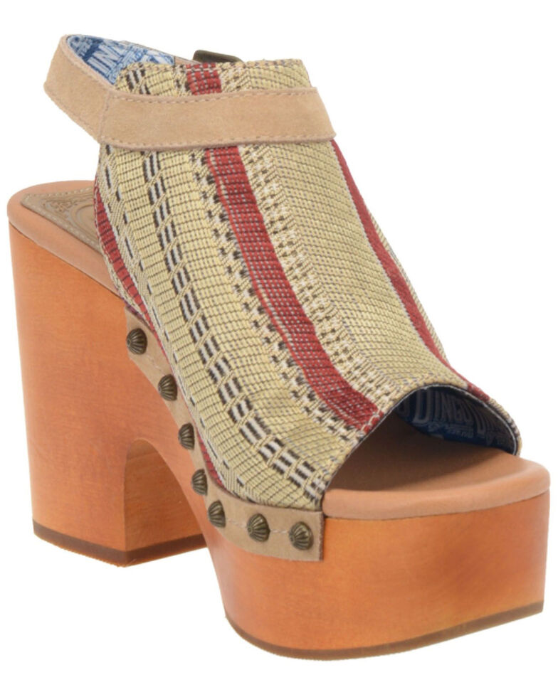 Dingo Women's Corona Fashion Booties - Round Toe, Sand, hi-res