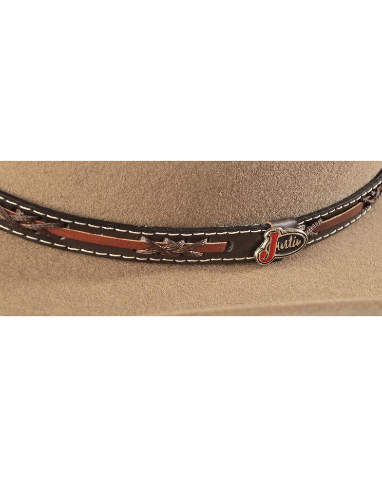 Justin Men's 2X Gallop Wool Cowboy Hat, Fawn, hi-res