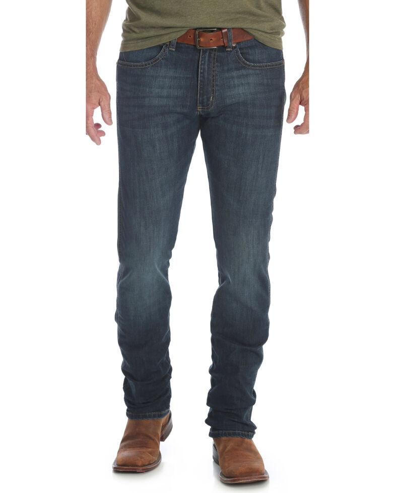 Wrangler Retro Men's Blue Stretch Skinny Jeans  , Blue, hi-res