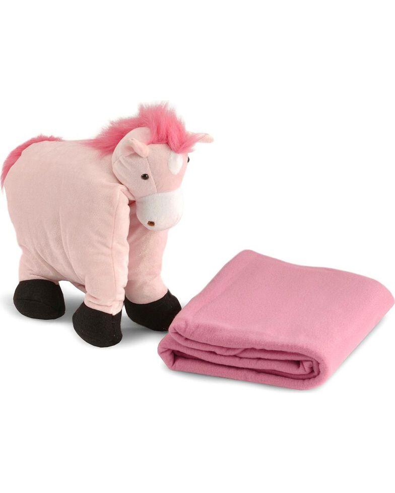 M&F Bigtime Barnyard Blanket Buddy, Pink, hi-res