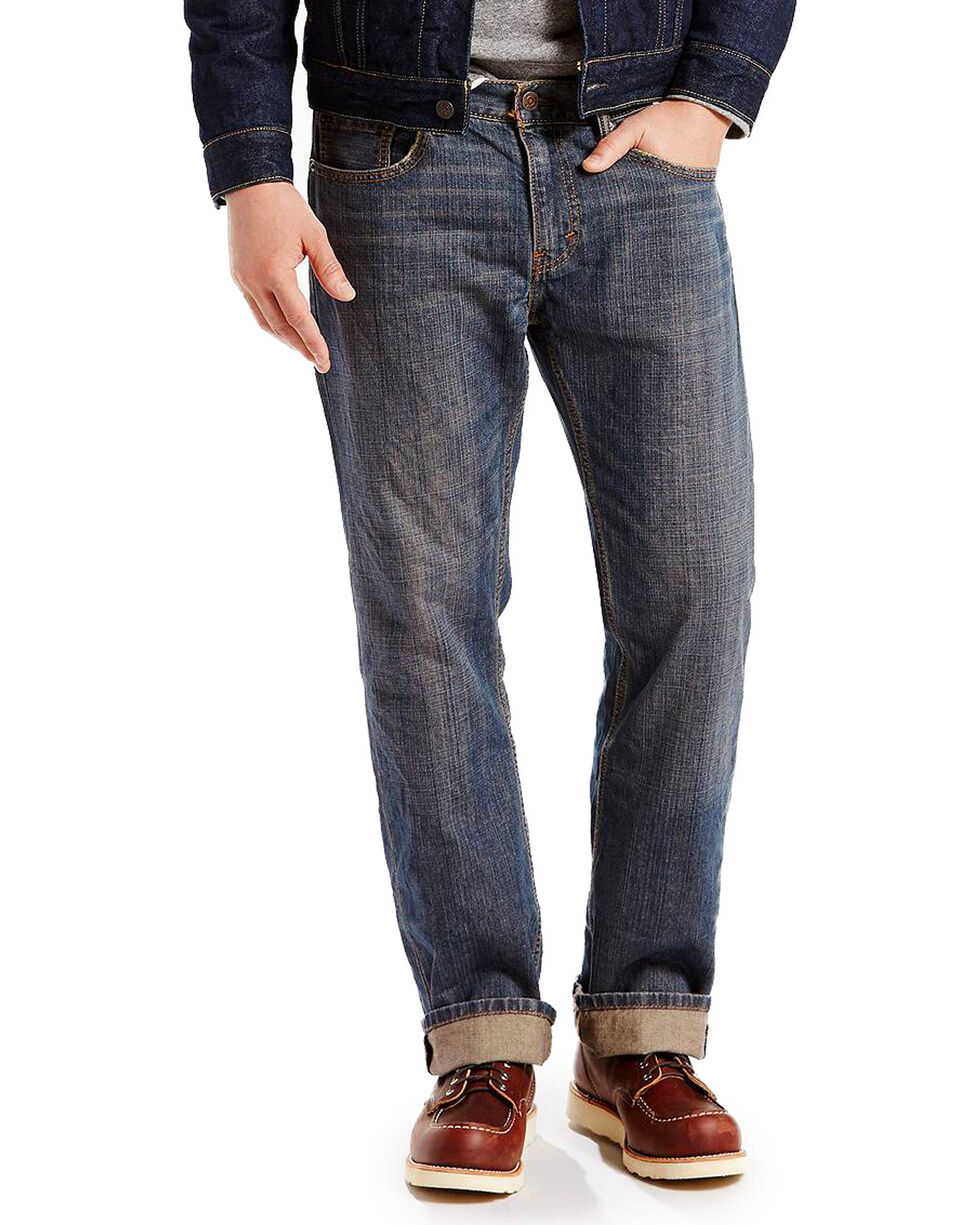 Levi's Men's Blue 559 Range Relaxed Jeans - Straight Leg , Blue, hi-res