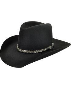 Bailey Men's Black Truckton 3X Cowboy Hat, Black, hi-res