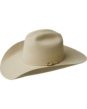 Bailey Men's Gage 10X Fur Felt Cowboy Hat, Buckskin, hi-res