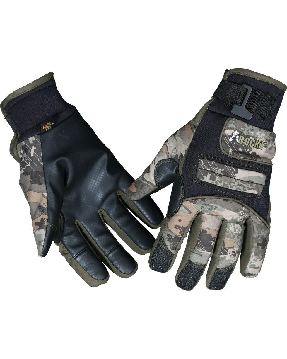 Rocky Venator Stratum Waterproof Insulated Gloves , Camouflage, hi-res