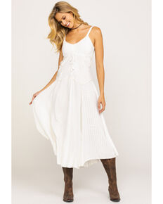 Honey Creek by Scully Women's Maxi Dress, Ivory, hi-res