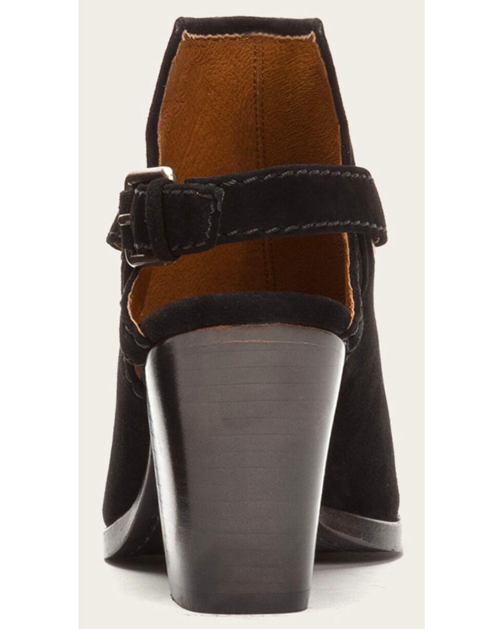 Frye Women's Black Suede Dani Shield Sling Heels, Black, hi-res