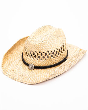 Moonshine Spirit Men's Fashion Straw Hat, No Color, hi-res