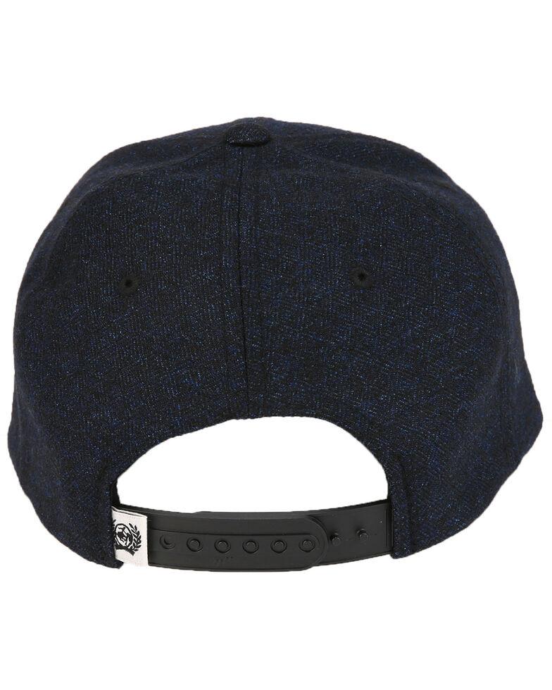 Cinch Men's Black Flex Fit Trucker Ball Cap , Black, hi-res