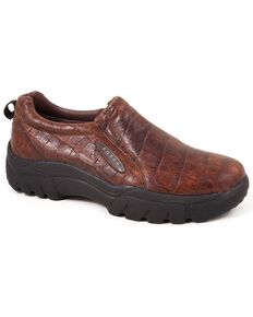Roper Men's Performance Sport Slip-Ons, Redwood, hi-res