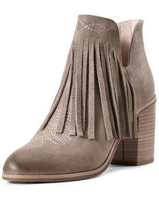 Ariat Women's Unbridled Jaxon Fashion Booties - Round Toe, Grey, hi-res