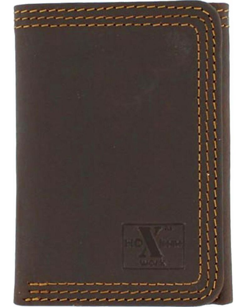 Nocona HDX Triple Stitched Tri-Fold Wallet, , hi-res