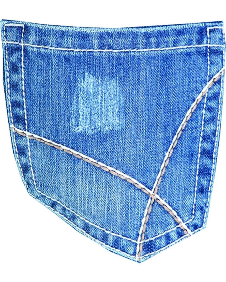 Men's Wrangler 20X No. 42 Vintage Boot Cut Jeans, Dark Blue, hi-res