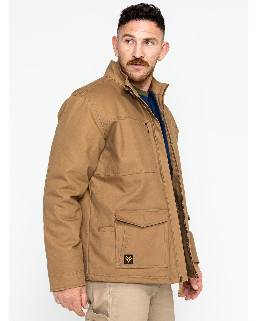 Hawx® Men's Canvas Work Jacket , Brown, hi-res