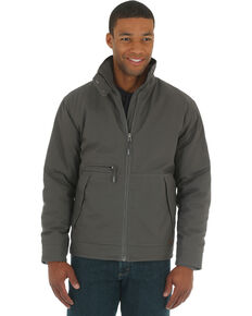 Wrangler Men's Charcoal Grey RIGGS WORKWEAR® Contractor Jacket - Big and Tall, Charcoal Grey, hi-res