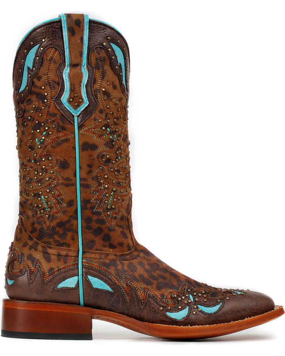 Cinch Women's Cheetah Western Boots, Cheetah, hi-res