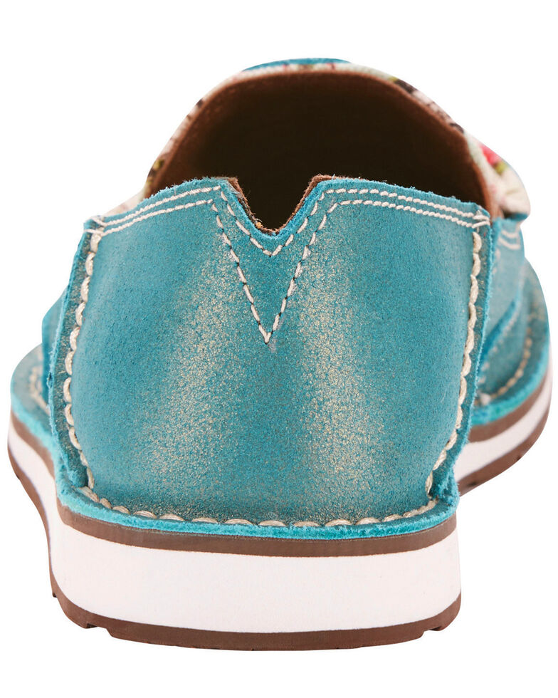 Ariat Women's Turquoise Cruiser Shoes , Light Blue, hi-res