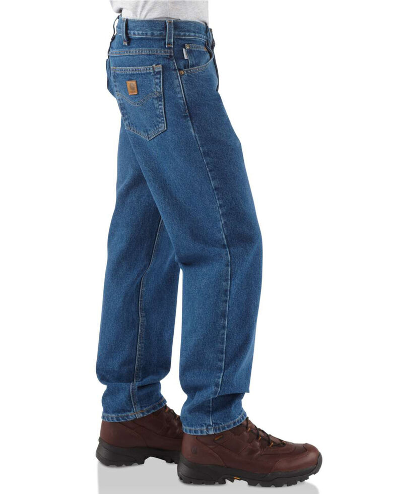Carhartt Men's Relaxed Fit Jeans, Blue, hi-res