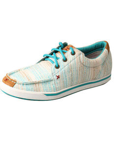 HOOey Women's Multi-Color Lopers, Blue, hi-res