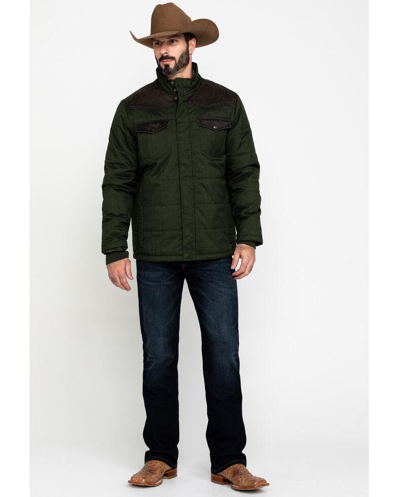 Cody James Men's Deer Hunter Heavy Weight Puffer Jacket , Olive, hi-res