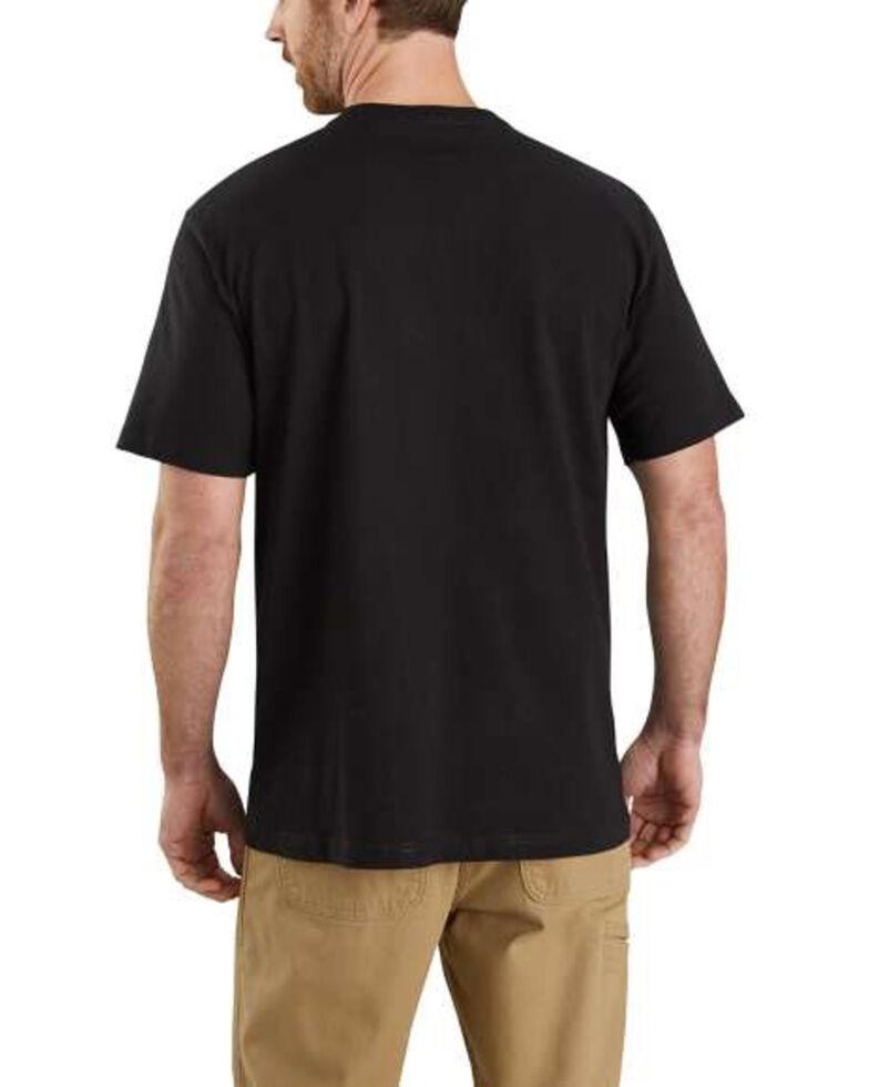 Carhartt Men's Black Midweight Made Graphic Short Sleeve Work T-Shirt , Black, hi-res