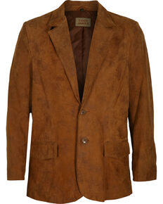 Cody James® Men's Blazer, Brown, hi-res