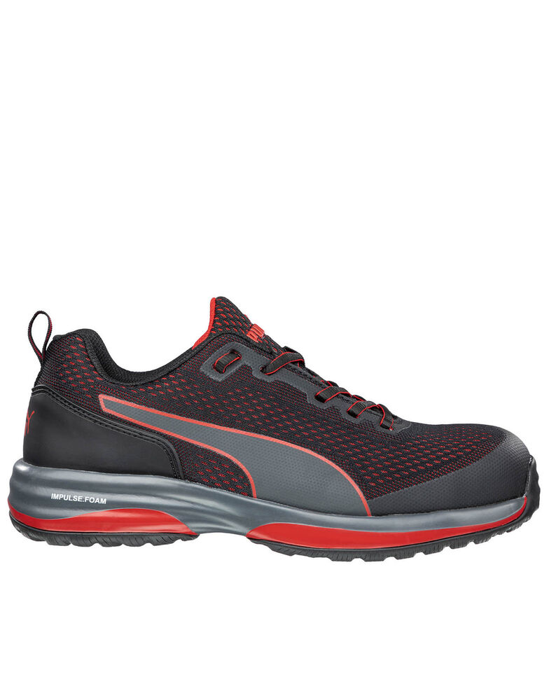 Puma Men's Speed Work Shoes - Composite Toe, Black, hi-res