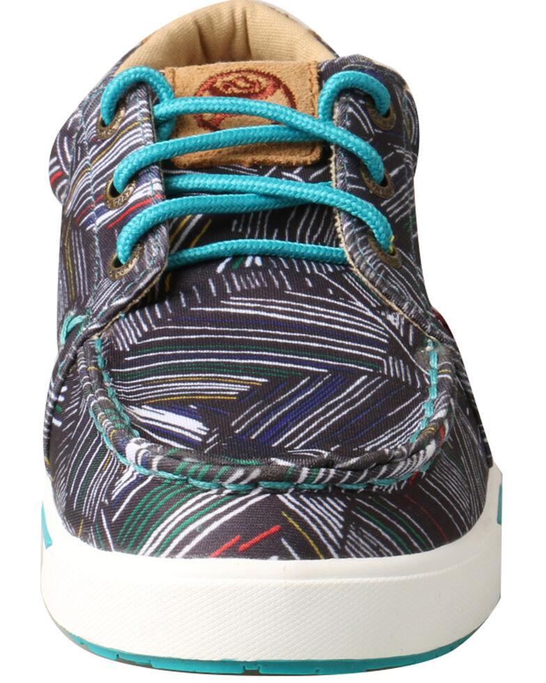 Twisted X Youth Boys' HOOey Loper Shoes - Moc Toe, Grey, hi-res