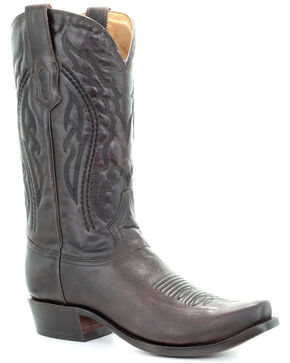 Corral Men's Jim Brown Western Boots - Narrow Square Toe, Chocolate, hi-res