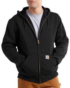 Carhartt Men's Hooded Zip-Up Sweatshirt, Black, hi-res