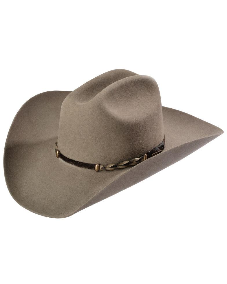 Stetson Portage 4X Buffalo Fur Felt Hat, Stone, hi-res