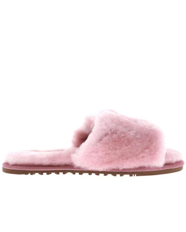 Lamo Footwear Women's Rose Naomi Sheepskin Sandals, Rose, hi-res