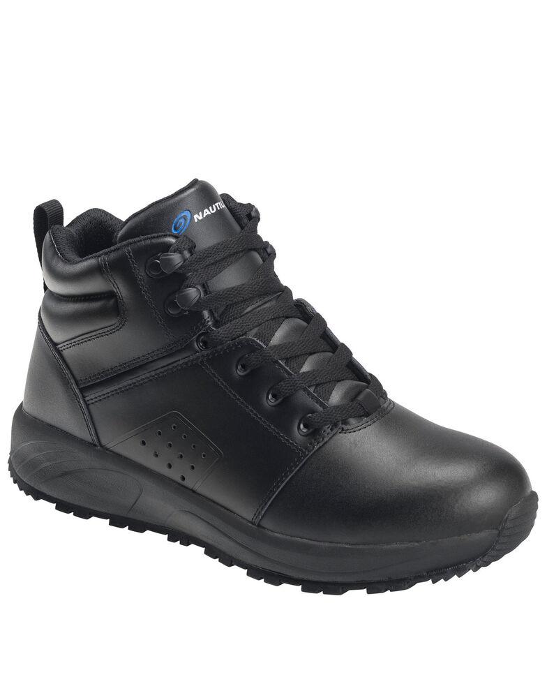Nautilus Men's Skidbuster Slip-Resisting Work Shoes - Soft Toe, Black, hi-res