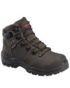 Avenger Men's Foundation Met Guard Work Boots - Composite Toe, Brown, hi-res