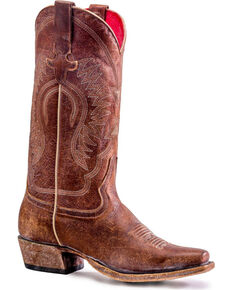 c603c19b4457 Macie Bean Women's Gringa Goes To Town Boots - Snip Toe