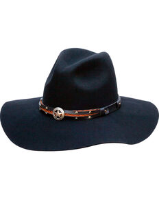 Silverado Women's Jane Western Hat , Black, hi-res
